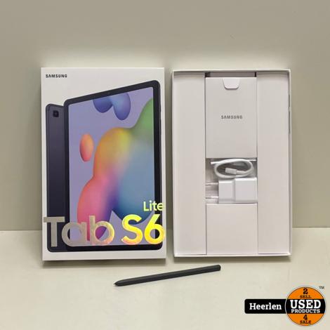 Samsung Galaxy Tab S6 Lite Wifi 4G 64GB | Zwart | A-Grade | Met Garantie