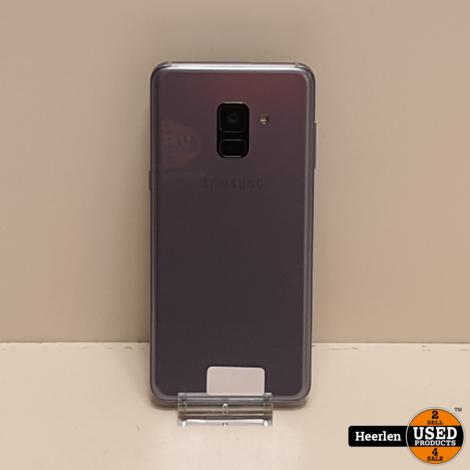 Samsung Galaxy A8 2018 32GB | Orchid-Gray | B-Grade | Met Garantie