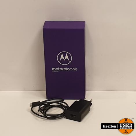 Motorola Moto One Vision 128GB   blauw   B-Grade   Met Garantie