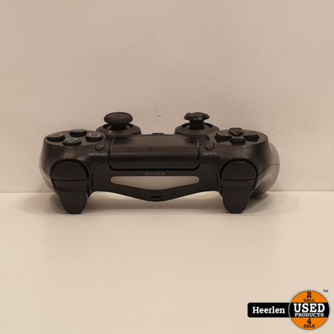 Sony Playstation 4 Controller   Zwart   B-Grade   Met Garantie