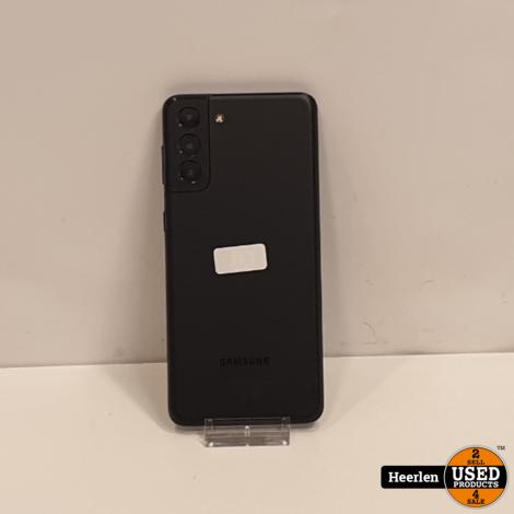 Samsung Galaxy S21 Plus 5G 128GB | Zwart | A-Grade | Met Garantie