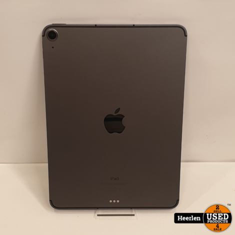 Apple iPad Air 2020 Wi-Fi 4G 64GB   Zwart   A-Grade   Met Garantie