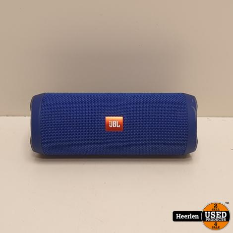 JBL Flip 4 | Blauw | B-Grade | Met Garantie
