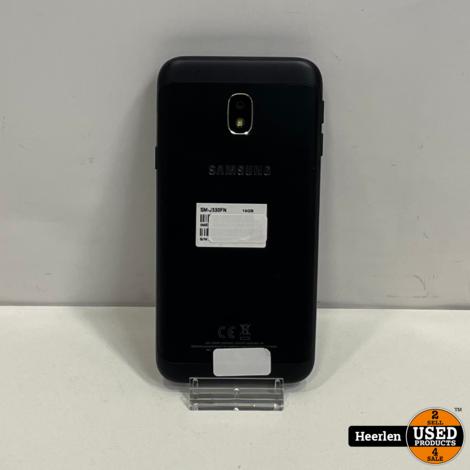 Samsung Galaxy J3 2017 16GB   Zwart   A-Grade   Met Garantie