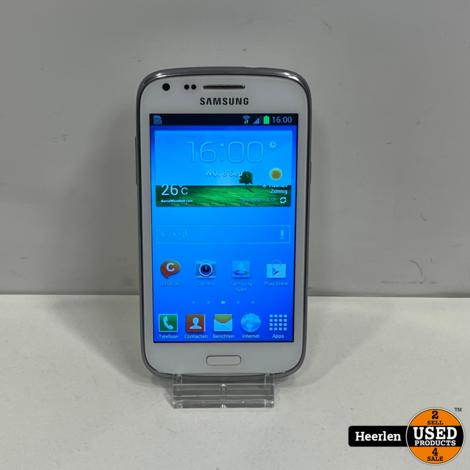 Samsung Galaxy Core 8GB   Wit   B-Grade   Met Garantie