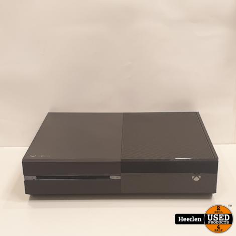 Microsoft Xbox One 500GB | Zwart | B-Grade | Met Garantie
