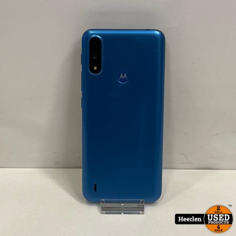Motorola E7i Power 32GB   Blauw   B-Grade   Met Garantie