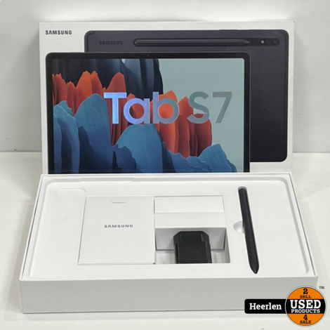 Samsung Galaxy Tab S7 Wi-Fi - 5G   Zwart   Nieuw   Met Garantie