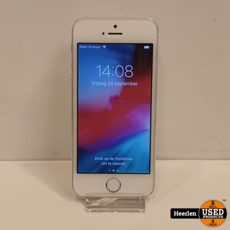 Apple iPhone 5S 16GB   Wit   B-Grade   Met Garantie