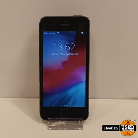 Apple iPhone 5S 16GB | Space Gray | B-Grade | Met Garantie