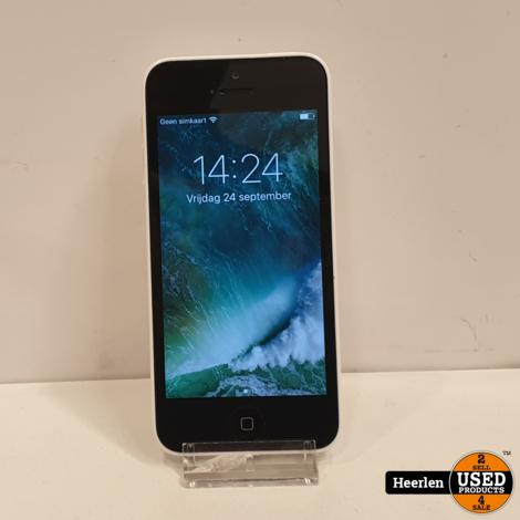 Apple iPhone 5C 8GB | Wit | B-Grade | Met Garantie