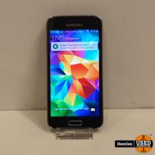 Samsung Samsung Galaxy S5 Mini 18GB   Zwart   B-Grade   Met Garantie