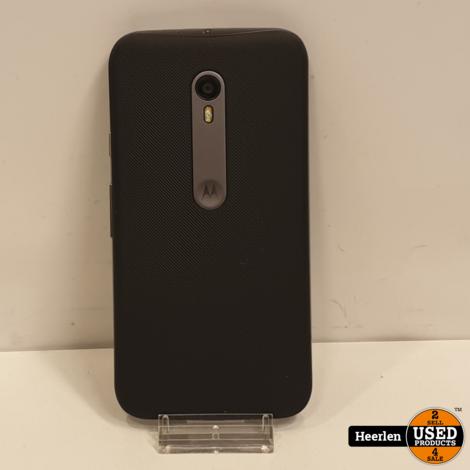 Motorola Moto G 3rd Gen 8GB | Zwart | B-Grade | Met Garantie