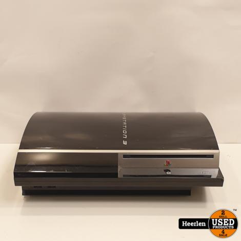 Sony Playstation 3 Phat 160GB   Zwart   B-Grade   Met Garantie