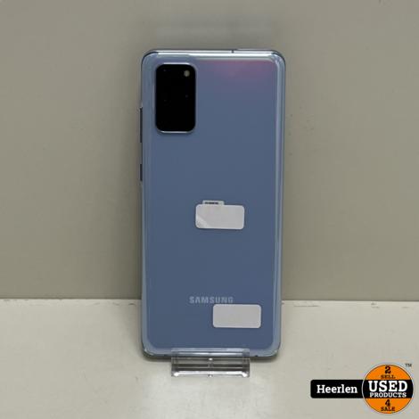 Samsung Galaxy S20 Plus 4G 128GB   Blauw   A-Grade   Met Garantie