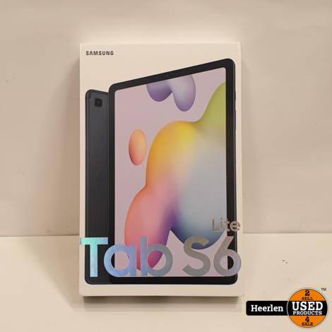 Samsung Galaxy Tab S6 Lite Wifi 4G 64GB   Zwart   A-Grade   Met Garantie