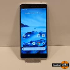 Nokia Nokia 6 32GB   Zilver   B-Grade   Met Garantie