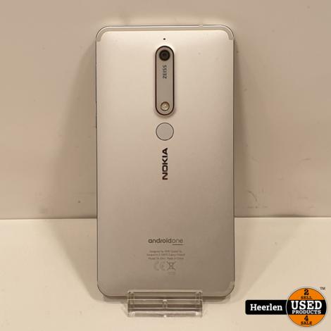 Nokia 6 32GB   Zilver   B-Grade   Met Garantie