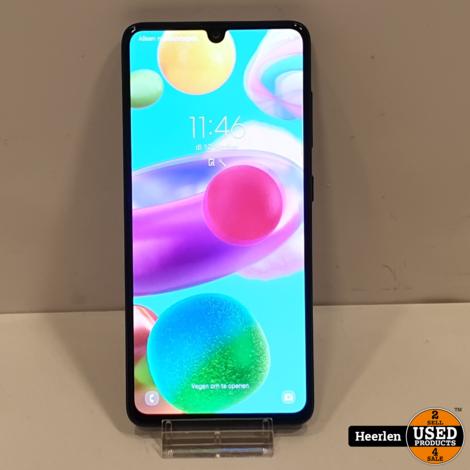 Samsung Galaxy A41 64GB | Zwart | B-Grade | Met Garantie