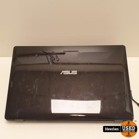 Asus N71J   Intel Core i5 M 430   4GB - 240GB SSD   B-Grade   Met Garantie