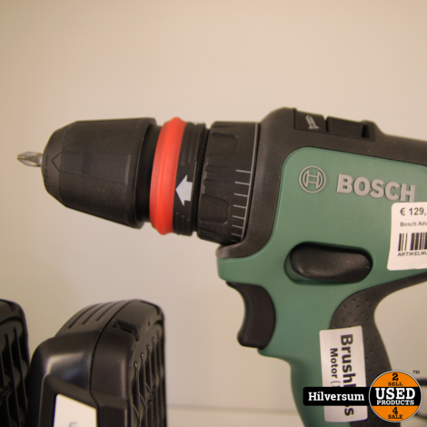 Bosch Advanced drill 18