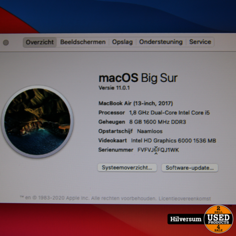 Macbook Air 2017 13 inch
