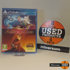 Playstation Disney Classic Games. Aladdin and The Lion King