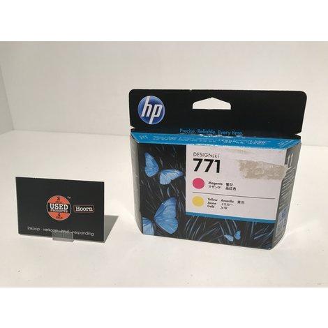 HP Designjet 771 Printkop Geel / Magenta CE018E Cartridge Nieuw in Doos