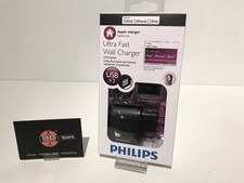 Philips Ultra Fast Wall Charger USB Lader Nieuw in Doos