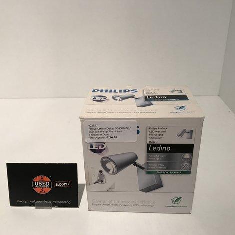 Philips Ledino Deltys 56460/48/16 LED Wandlamp Aluminium | Nieuw in Doos