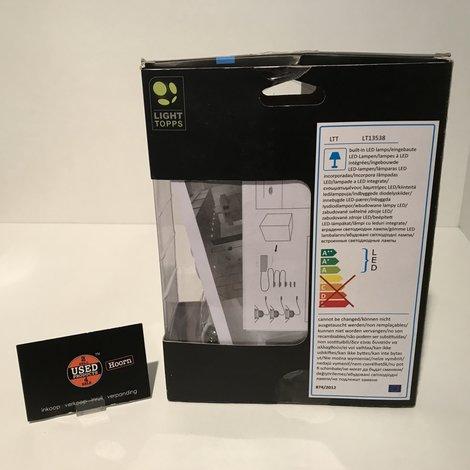 Light Topps Ultima S200 LED RVS 3 stuks Inbouwspot Verstelbaar   | Nieuw in Doos