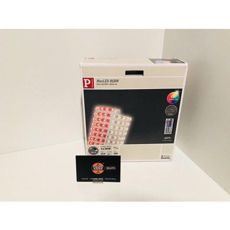 Paulmann MaxLED RGBW basisset gecoat 3 m 36 W met kleurveranderingsfunctie incl. afstandsbediening