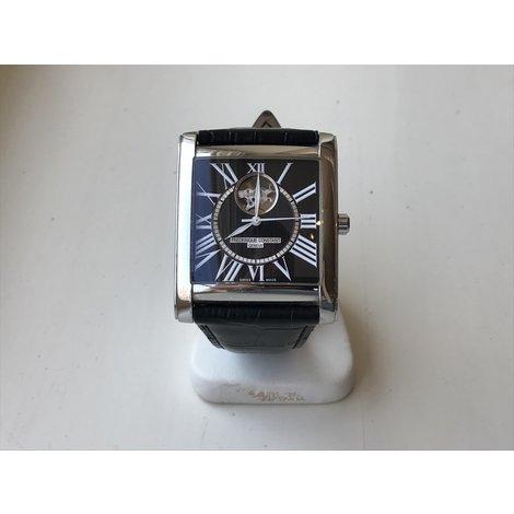 Frederique Constant Sapphire Dep FC-310/315X5C24/5/6 Herenhorloge met Croco-Calf Leder Band Geen Doos en Certificaat in Nette Staat