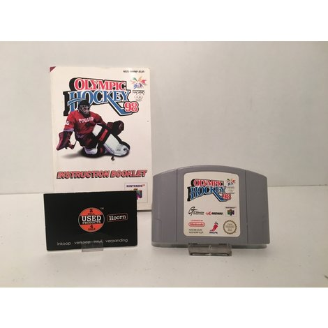 Nintendo 64 Game: Olympic Hockey N64