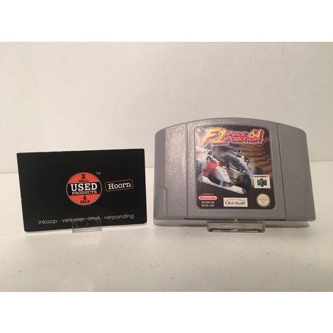 Nintendo 64 Game: F1 Pole Position N64