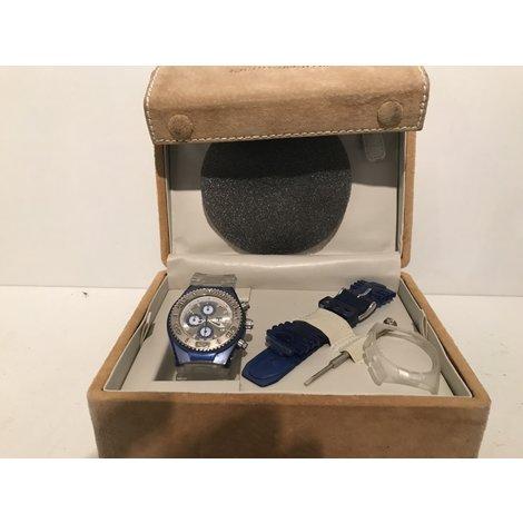 TechnoMarine Yacht-Y1 Horloge Blauw in Doosje