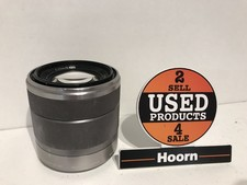 Sony Nex 18-55/3.5-5.6 OSS 49mm Lens Zilver