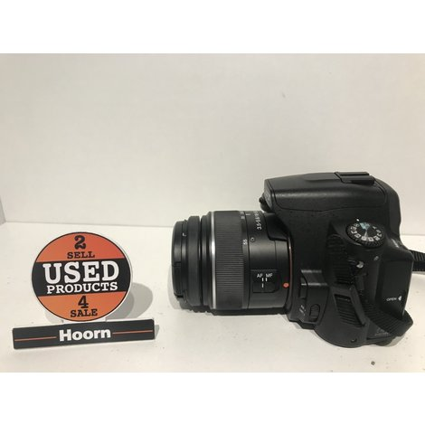 Sony DSLR-A290 Camera incl. 18-55 Lens en 2 Accu's + Lader in Tas in Nette Staat