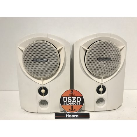 B&W Rock Solid Team Monitor Speakers 75Watt Wit