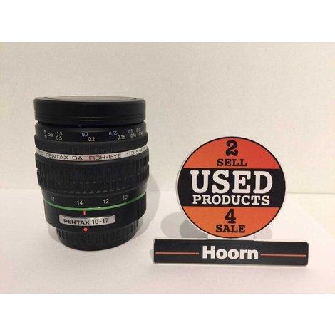 Pentax 10-17mm SMC DA f/3.5-4.5 ED (IF) Fisheye Lens in Zeer Nette Staat voor Pentax K-mount