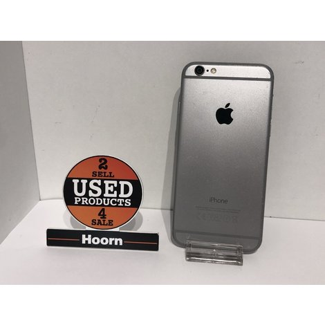 iPhone 6 16GB Space Gray Los Toestel incl. Lader