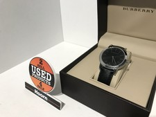 Burberry BU2351 Horloge (Saffierglas, 30M Waterproof) in Doos in Nette Staat