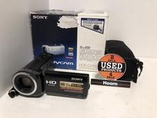 Sony HDR-CX105E HandyCam 4MP Videocamera in Doos incl. Lader en Accu