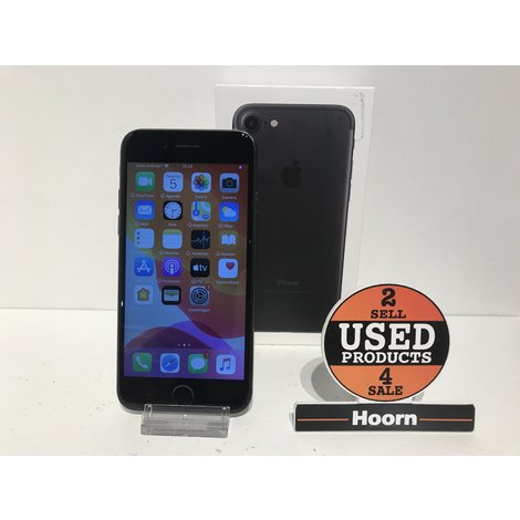 iPhone 7 32GB Black In Doos incl. Lader
