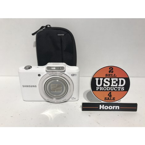 Samsung WB50F 16MP. Digitale Compact Camera Wit incl. Lader en Hoes