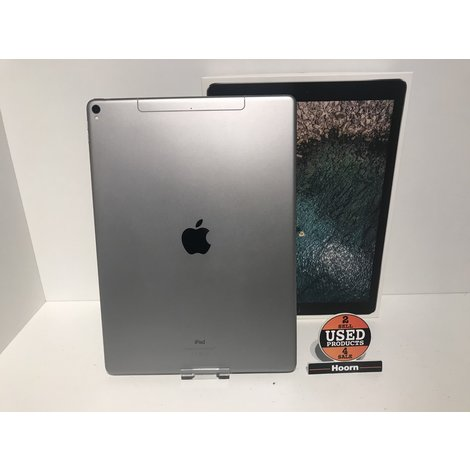 iPad Pro 12.9-inch 2e Generatie 64GB Wifi + 4G Space Gray Compleet in Doos