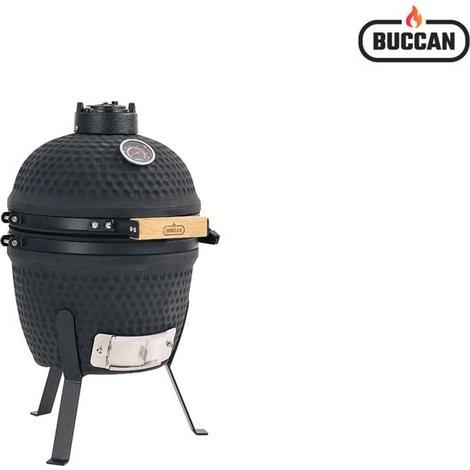 Buccan Sunbury Smokey Egg Compact BBQ/Barbecue Zwart Nieuw in Doos