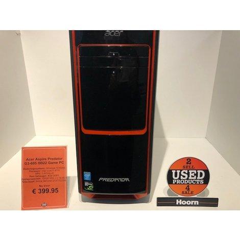 Acer Aspire Predator G3-605 I9922 NL Game PC Zie Specificaties