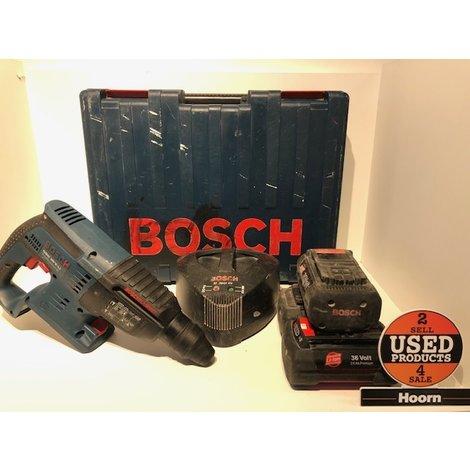 Bosch GBH 36 V-LI Klop-/Boormachine Boorhamer incl. 3x 36 Volt 2.6Ah Accu's en Lader in Koffer