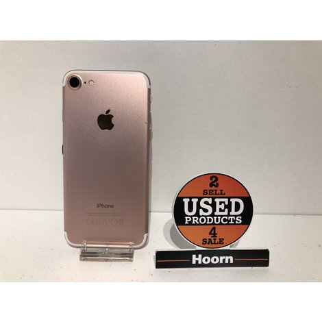 iPhone 7 128GB Rose Gold Los Toestel incl. Lader